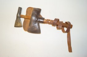 Rare Rifleman's Hammer Pole Tomahawk