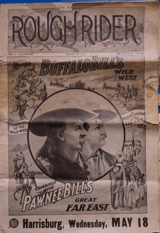 Rough Rider Season of 1910 Buffalo Bill Program