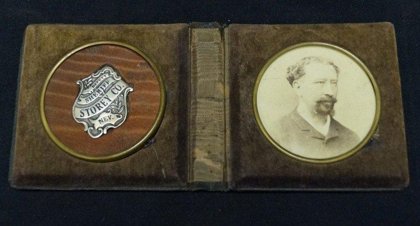 Deputy Sheriff-Portrait & Sterling  Badge