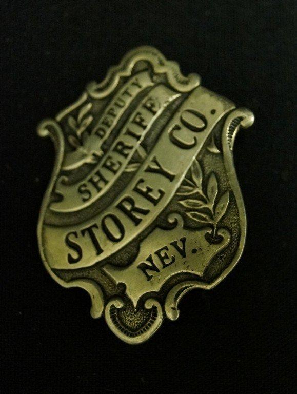 Deputy Sheriff-Portrait & Sterling  Badge - 2