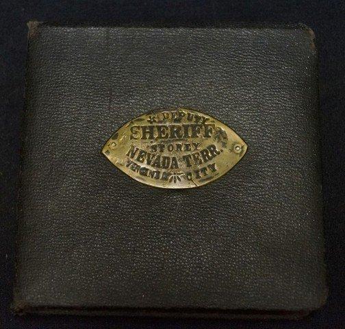 Deputy Sheriff-Portrait & Sterling  Badge - 4