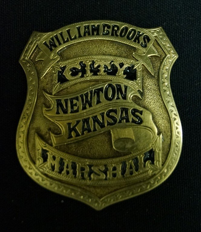 William Brooks Marshal Badge