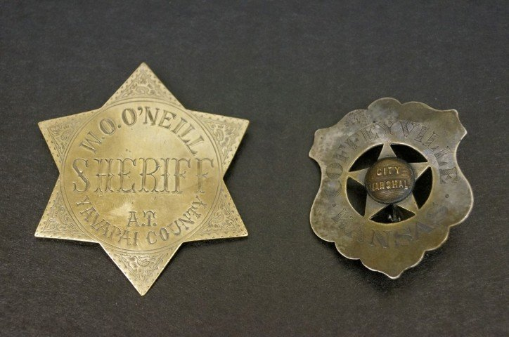 Two Western Badges
