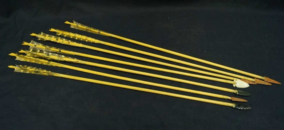 Seven Hand Made Arrows