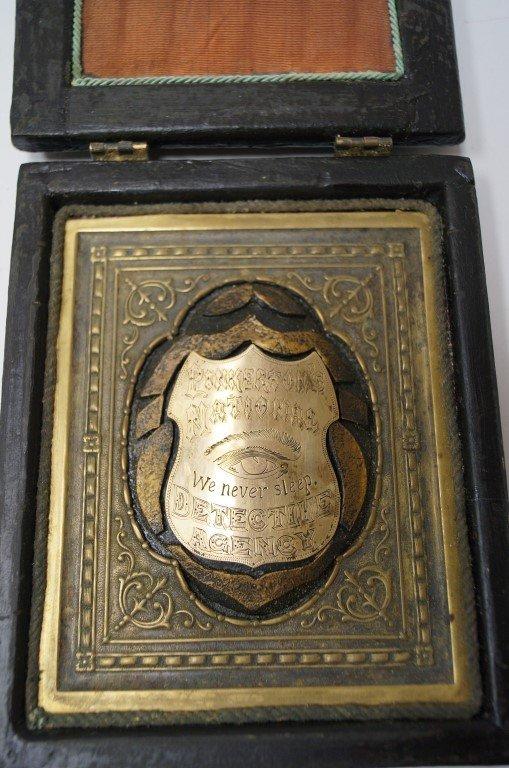 Detective Badge of Allan Pinkerton