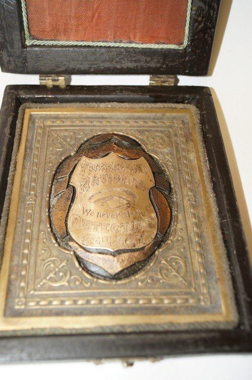 Detective Badge of Allan Pinkerton - 3