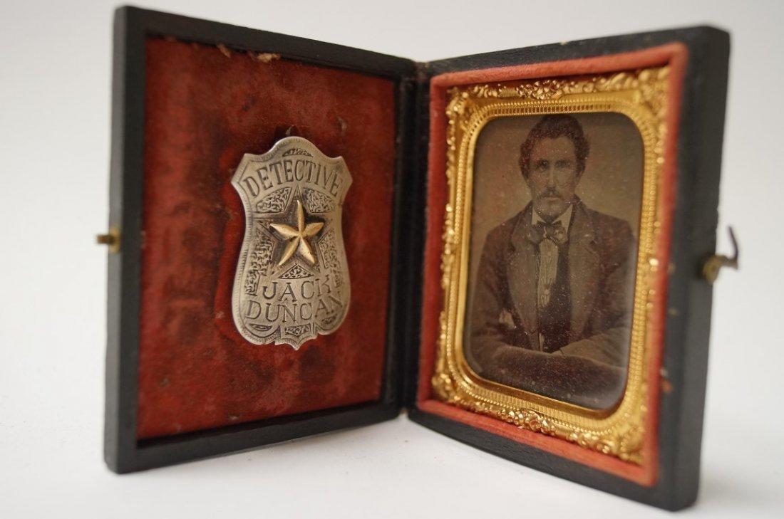 Detective Badge of Allan Pinkerton - 8