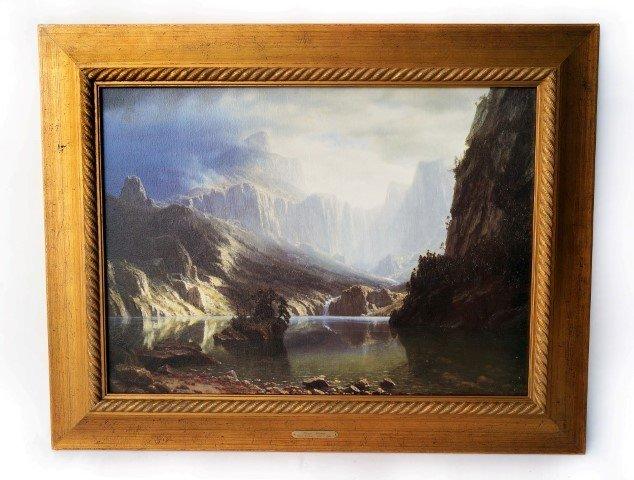 After Bierstadt. Sierra Nevadas