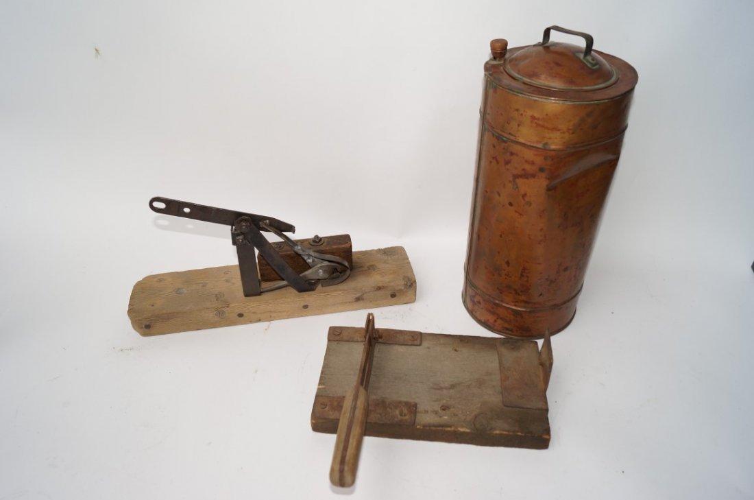 Copper Dynamite Warmer, Fuse Cutter, Cap Crimper - 2