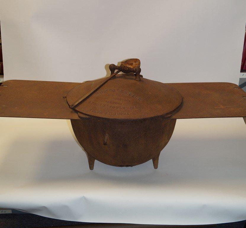 Chuck Wagon Cook -N- Kettle & Coffee Pot