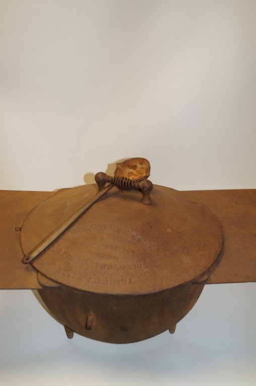 Chuck Wagon Cook -N- Kettle & Coffee Pot - 2