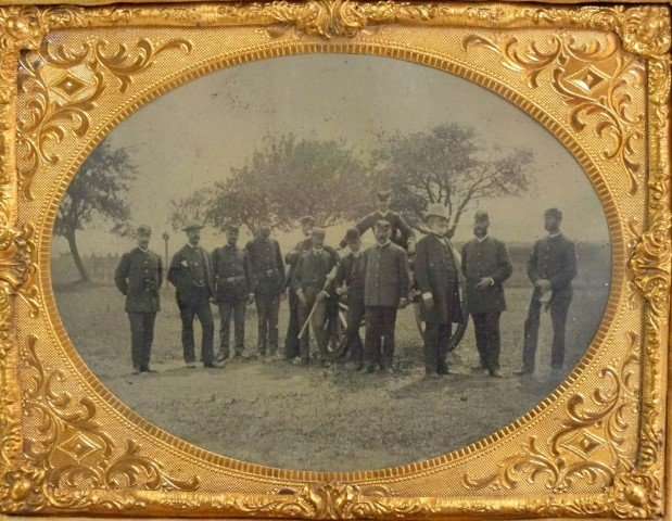 Daguerreotype - Indian Wars Artillery