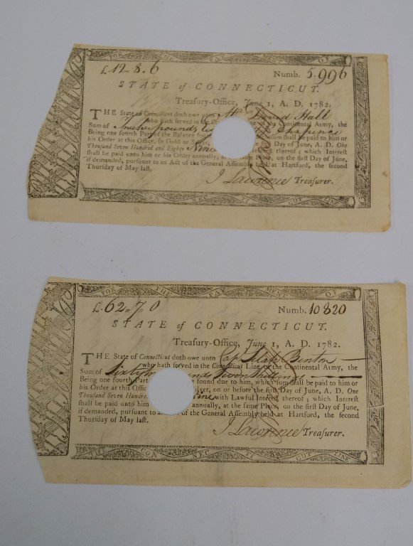 Revolutionary War Conn. Line Notes (2)