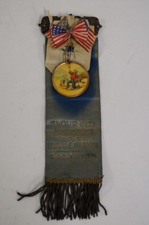 Leadsville Colorado Miners 1895 Ribbon