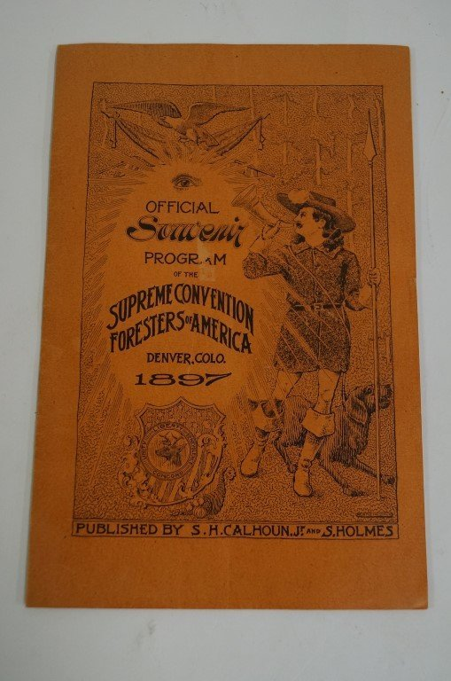 1897 Foresters of America Program