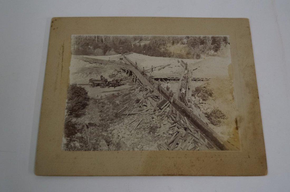 Rare Photograph Hydraulic Mining