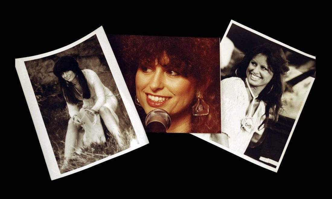 Twelve Assorted Photographs of Jessi Colter Throughout