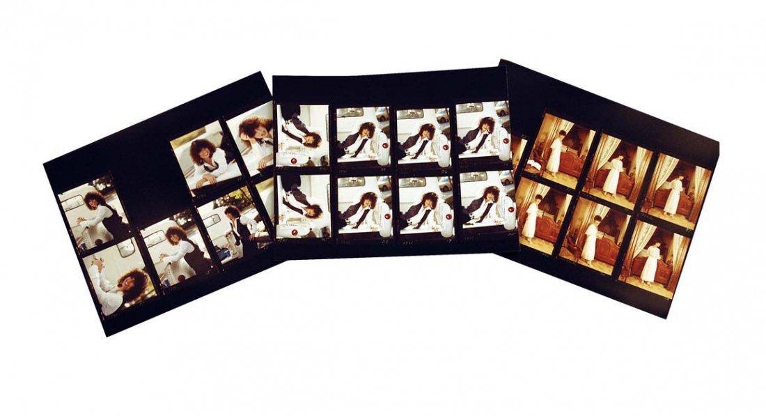 Twenty-One Photographic Contact Prints of Jessi Colter