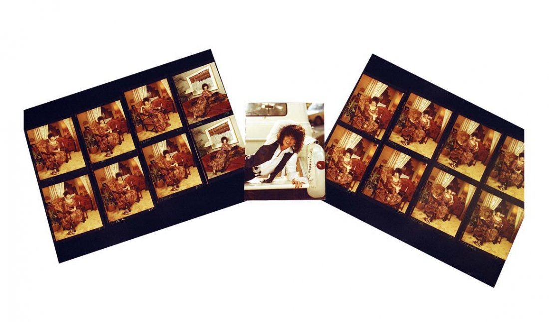 Assorted Photographic Contact Prints of Jessi Colter by