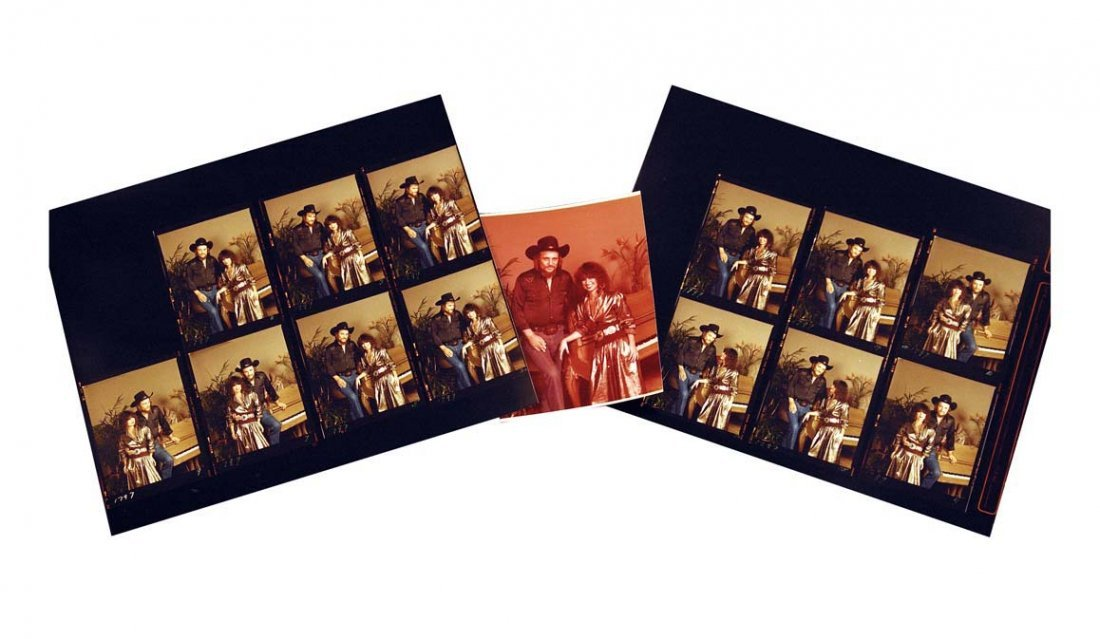 Fourteen Photographic Contact Prints of Jessi and