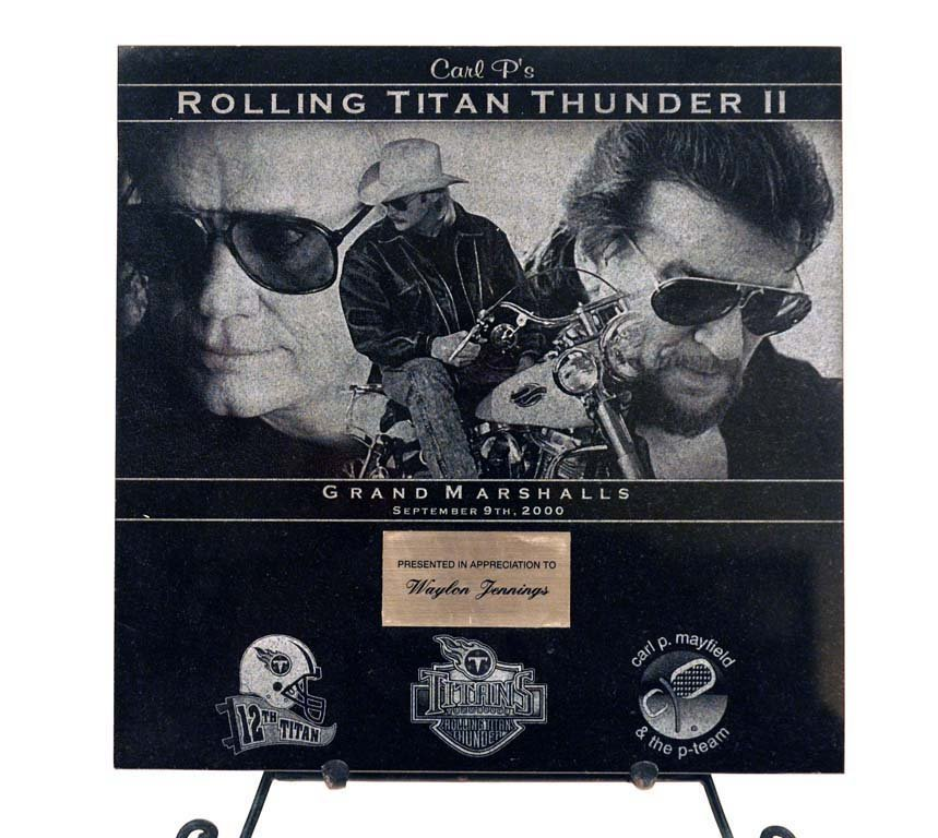"Carl P. Mayfield's ""The Rolling Titan Thunder II"""
