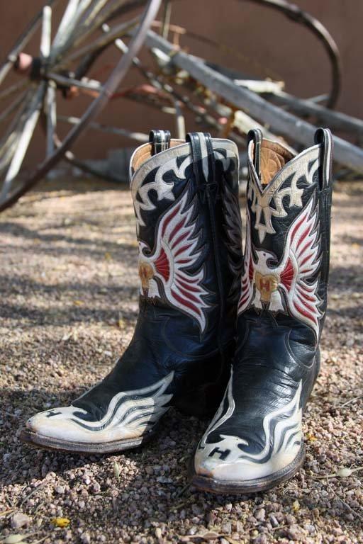 Hank Williams' Custom-made Cowboy Boots