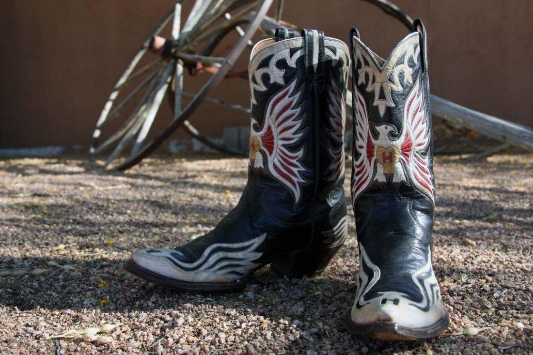 Hank Williams' Custom-made Cowboy Boots - 2