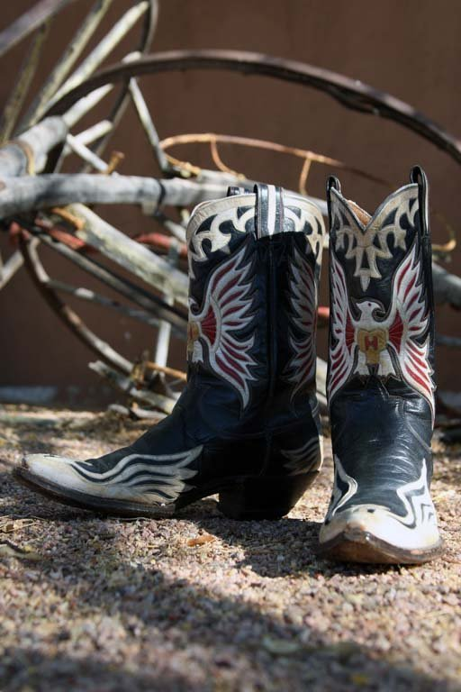 Hank Williams' Custom-made Cowboy Boots - 3