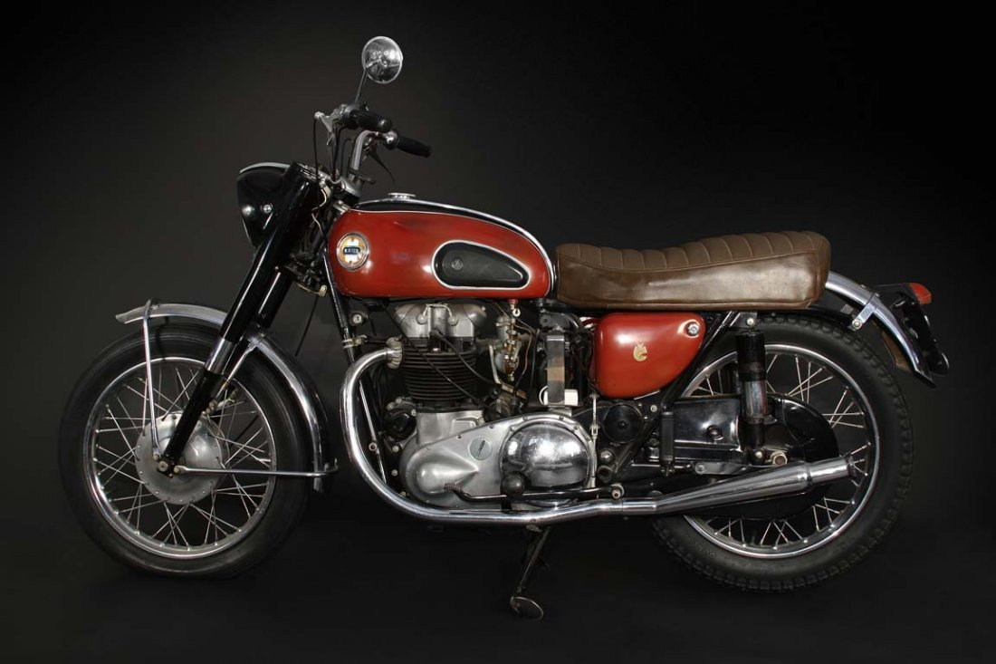 Buddy Holly's 1958 Ariel Cyclone Motorcycle