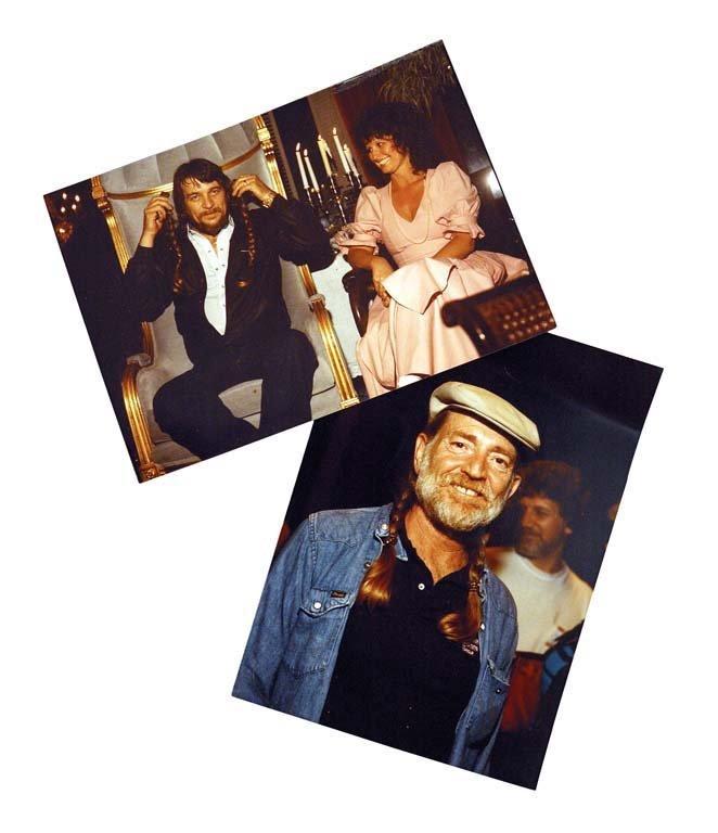 Willie Nelson's Trademark Braids, 1983 - 2