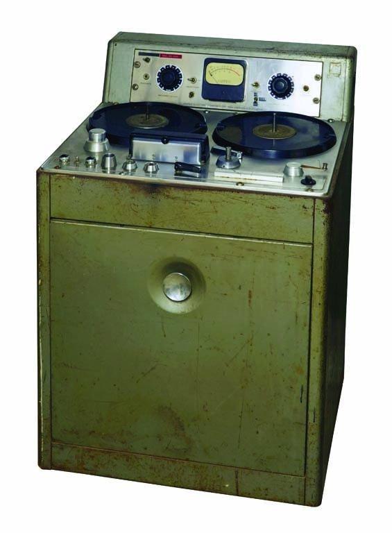 Original Ampex Recording Machine from Les Paul's Home