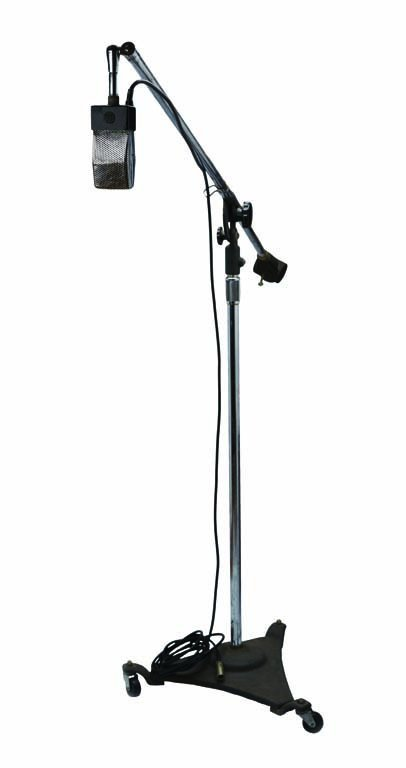 RCA 74-B  Microphone with Atlas Sound Stand from Les