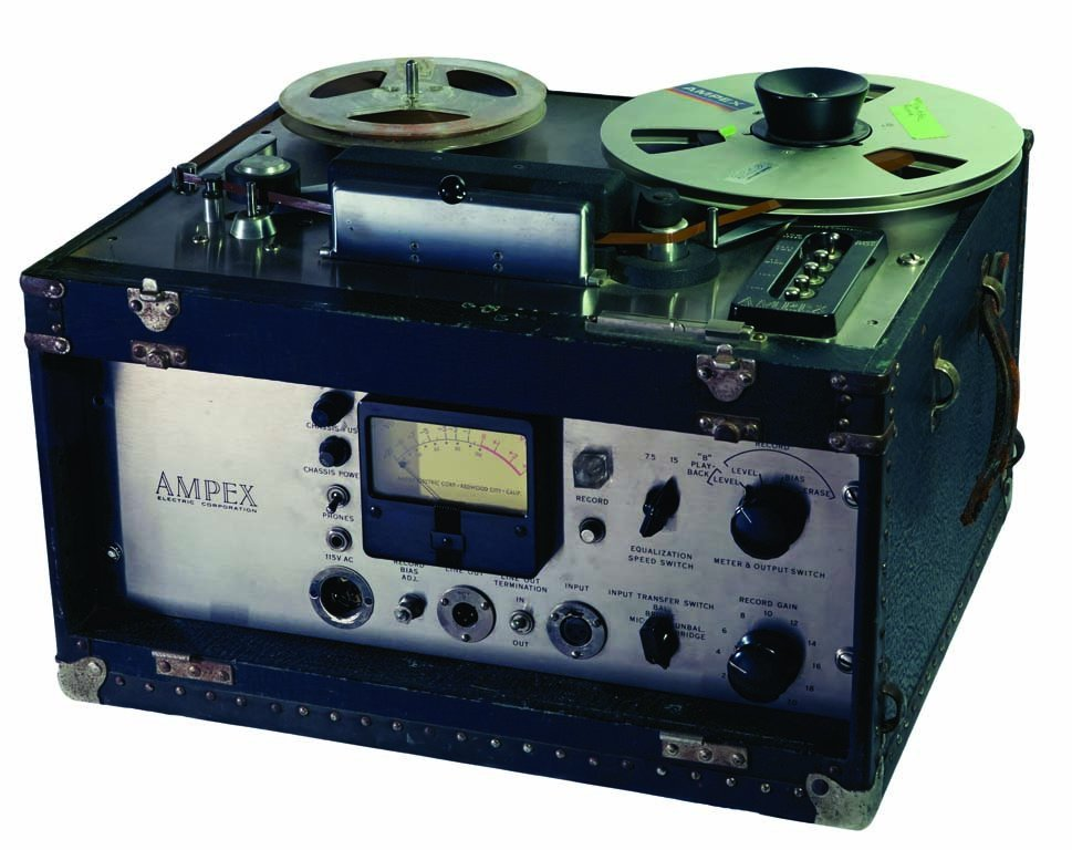 Ampex 400 Recording Machine from Les Paul's Home Studio