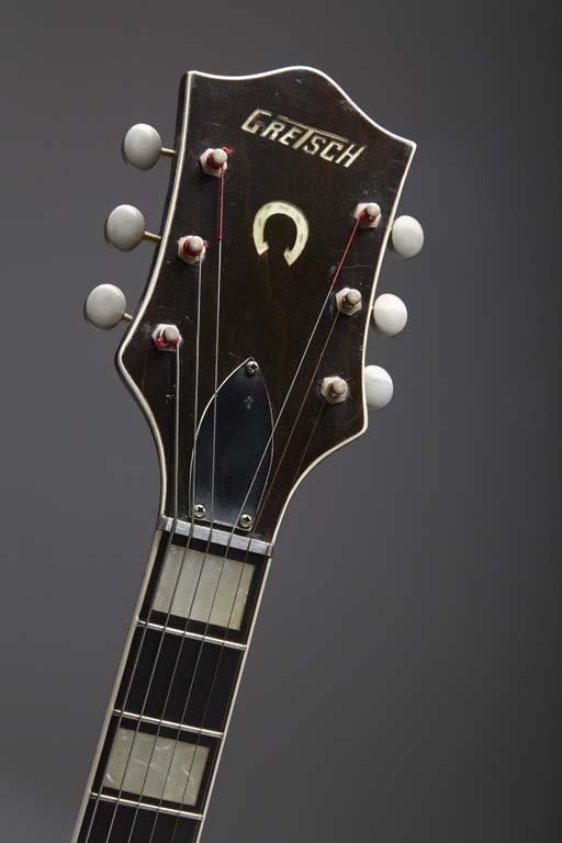 1956 Gretsch Chet Atkins Black Sealed Top 6120 - 3