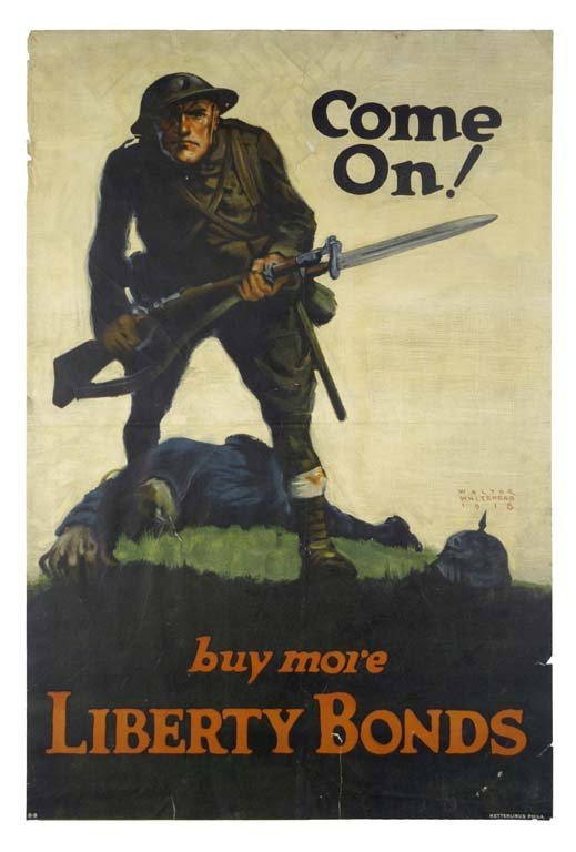 Come On! Buy More Liberty Bonds