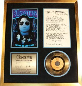 The Doors: Riders On The Storm (gold Record - Limited