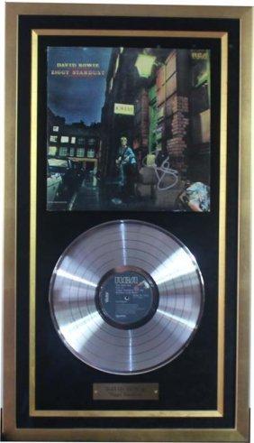David Bowie: Ziggy Stardust (platinum Record)