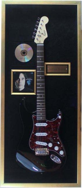 Jackson Browne Autographed Electric Guitar