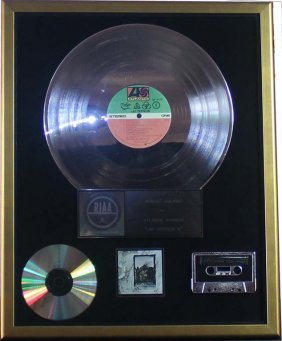 Led Zeppelin: Platinum Record - Riaa Certified