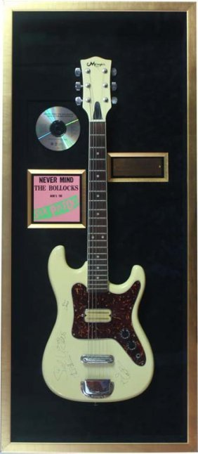 Sex Pistols Signed Electric Guitar