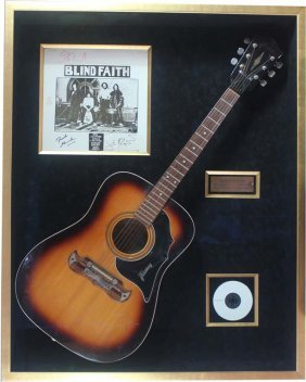 Blind Faith: Signed Acoustic Guitar And Album