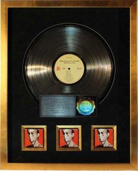 Rolling Stones: Platinum Record - Riaa Certified