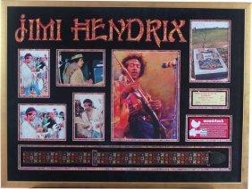 Jimi Hendrix: Woodstock Guitar Strap