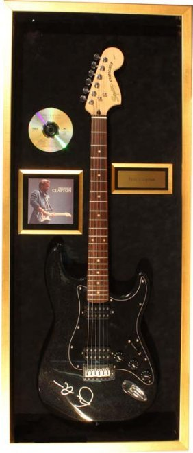 Eric Clapton Autographed Electric Guitar