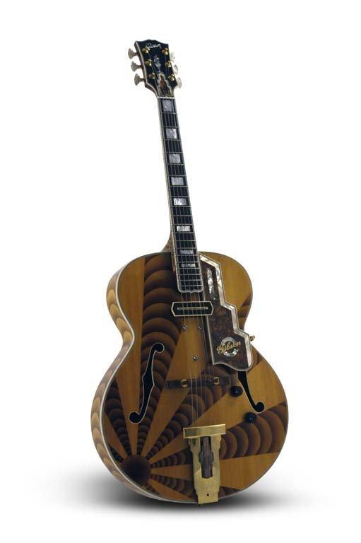 2000 Gibson Custom Art Deco L-5 Auburn