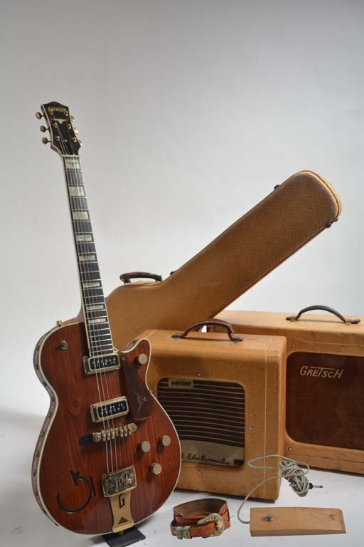 1954 Gretsch Round-Up Pine Top Guitar + 2 Rare Amps