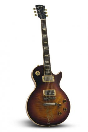 Les Paul-signed Gibson Historic R8 Les Paul Standard