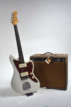 1963 Fender Olympic White Jazzmaster With 1963 Fender