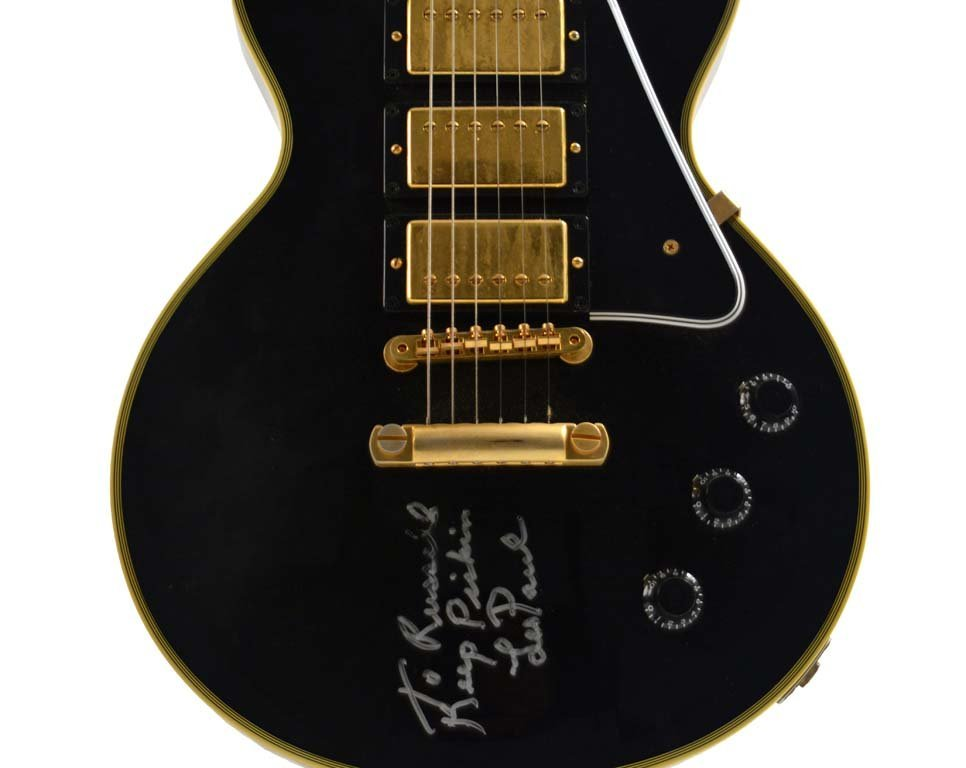 2001 Gibson Custom Shop Mickey Baker Les Paul Reissue - 6
