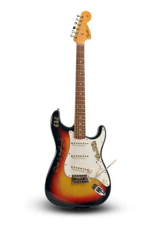 Stevie Ray Vaughan Owned Signed C 1966 67 Fender